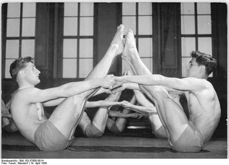 Leipzig, DHfK, Gymnastik